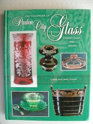 Paden City Glass $$$ id Price Guide Collector's Book
