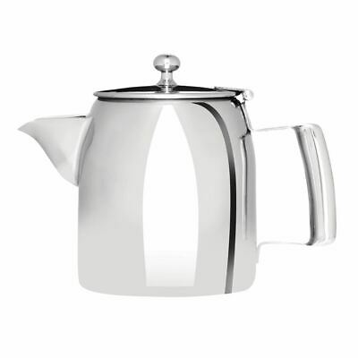 Olympia Cosmos Tea Pot with Heat Resistant Handle Made of Stainless Steel 570ml