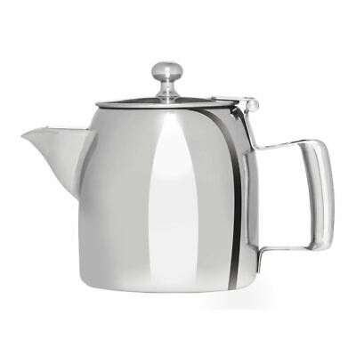 Olympia Cosmos Tea Pot with Heat Resistant Handle Made of Stainless Steel 340ml
