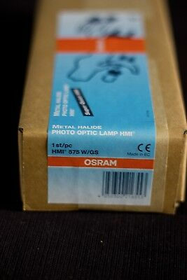 Osram HMI-575 W/GS Metal Halide Photo Optic Lamp