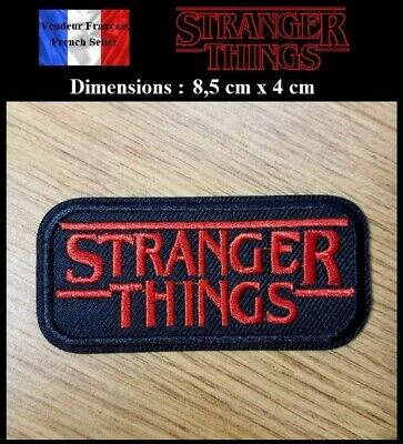 Écusson Brodé Thermocollant NEUF ( Patch Embroidered ) - Stranger Things