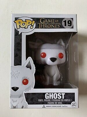 Game Of Thrones GHOST Funko POP! 19 Vinyl Figure Direwolf Limited Edition 3 HBO