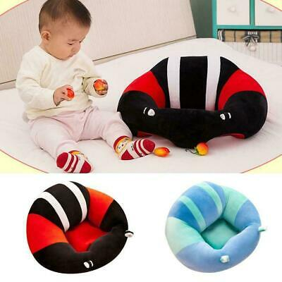 Kids Baby Support Seat Sit Up Soft Chair Cushion Sofa Plush Pillow Toy Bean