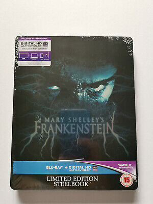 Mary Shelley's Frankenstein Blu-Ray Steelbook Zavvi Limited Edition (Unopened)