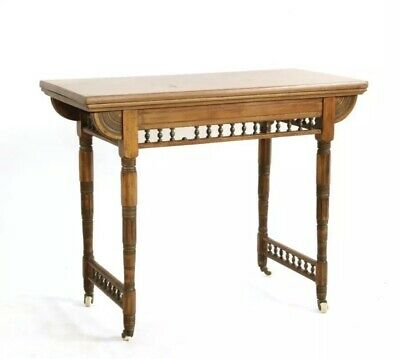 Victorian Aesthetic fold over Card Table