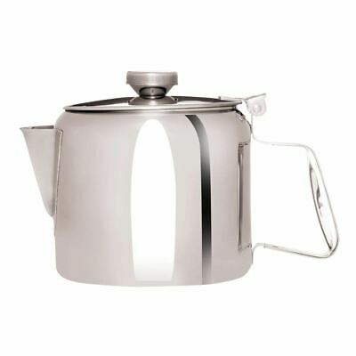 Olympia Concorde Tea Pot Made of Stainless Steel Dishwasher Safe - 910ml