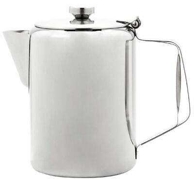 Sunnex Large Stainless Steel Teapot Coffee Pot Catering Restaurant 100oz 3.0L