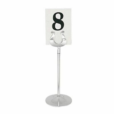 Olympia Table Number Stand Holder with Heavy Base Made of Stainless Steel 205mm