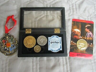 HARRY POTTER Noble Collection, Gringotts coin / school medallion