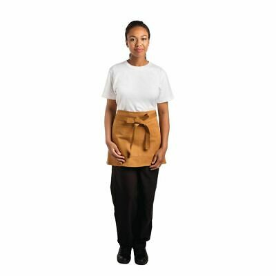 Whites Chefs Apparel Bistro Apron Tan - 700 x 430mm