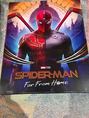 SPIDERMAN Poster Far From Home - 2x Official Odeon Movie Glossy Set Bundle