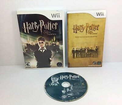 Harry Potter and the Order of the Phoenix (Nintendo Wii, 2007)
