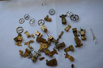 antique carriage  clock escapement platforms parts 13