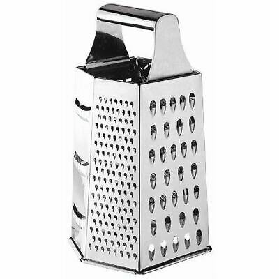 Vogue 6 Way Hand Grater Silver Colour Stainless Steel