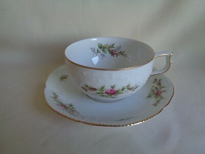 Collectible Cup And Saucer Set Classic Rose Made In Germany