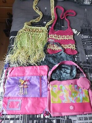 Job Lot 5 Girls Shoulder Bags