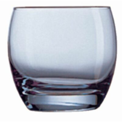Arcoroc Salto Ice Tumblers Made of Glass in Blue 320 ml / 11 oz - 24