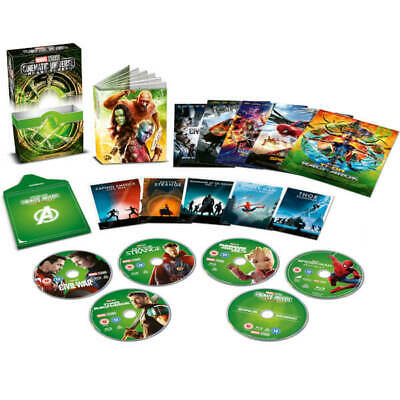 Marvel Studios Cinematic Universe Phase Three 3 Collector's Edition Bluray UK!