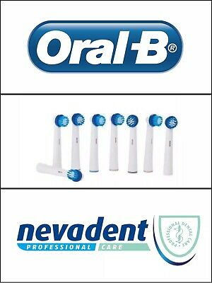 Oral-B,Nevadent Replacement Professional Toothbrush Heads x 8