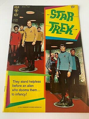 Star Trek The Youth Trap Part 1 Gold Key Sept 1970 Comic Book Complete