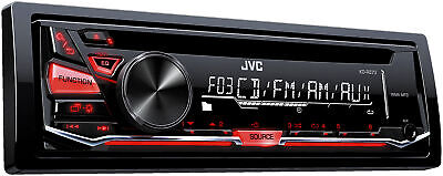 JVC Refurbished KD-R370 CD Receiver with Front AUX Input
