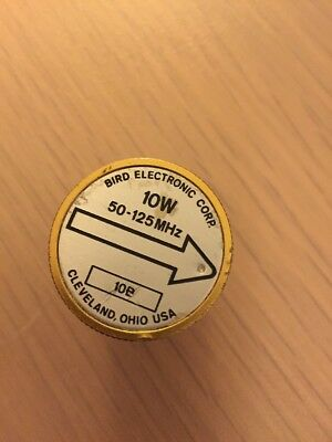Bird Thruline Wattmeter Element Slug 10E