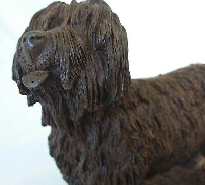OLD ENGLISH SHEEPDOG by M.R.TANDY-  HEREDITIES?COLD CAST BRONZE RESIN- DOG