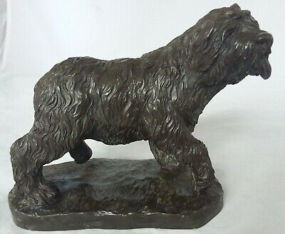 Heredities Old English Sheepdog- Jean Spouse- Cold Cast Bronze Resin - Dog