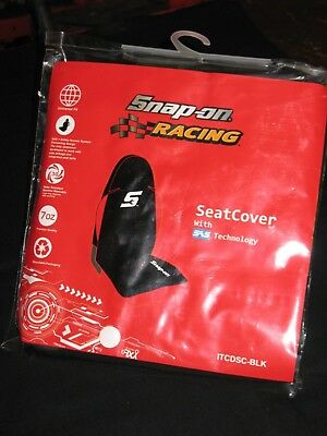 Snap-On Tools A Pair Of Heavy Duty Black Universal Seat Cover Car, Van, Truck