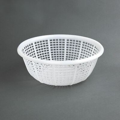 Vogue Colander in White - Made of Polyethylene - Round - Size 290(Ø)mm