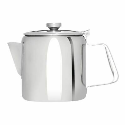 Olympia Concorde Tea Pot Made of Stainless Steel Dishwasher Safe - 1.35L