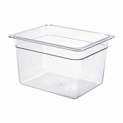 Cambro Gastronorm Gastro GN Pan Polycarbonate Food Storage Container 1/2 20cm