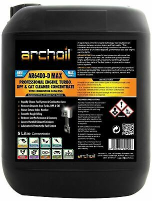 Archoil AR6400-D MAX Professional Diesel Engine, Turbo DPF CAT, Cleaner 5 Litres