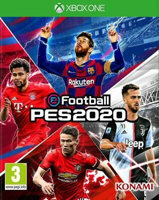 Efootball: Pes 2020 Xbox One Eu Pro Evolution Soccer 2020 Ita Nuovo Disponibile