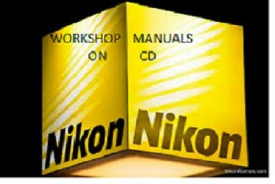 Nikon Workshop & Repair Manuals On Cd