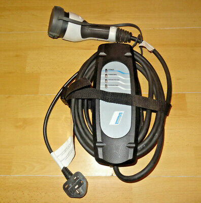 BMW i3 i8 330E mains charger charging cable UK plug to Type 2 BMW SUPPLIED