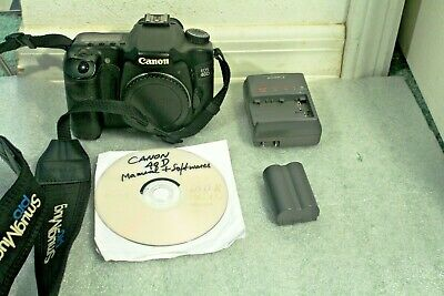 "USED Canon EOS 40D 10.1MP,3""LCD Body ONLY, Good."