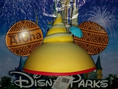 NEW WITH TAGS Disney Parks Aloha Dole Whip Tiki Drink Ear Mickey Hat Adult 2019