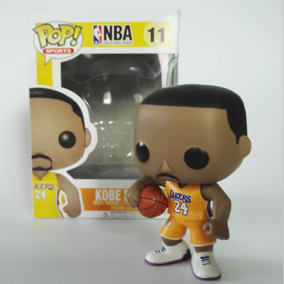 FUNKO POP Basketball NBA Star KOBE BRYANT #11 PVC Action Figure Model toy
