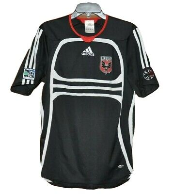the best attitude 1c150 1158f 2006 ADIDAS MLS SOCCER VTG DC UNITED JERSEY Mens S Black ClimaCool Vintage  RARE
