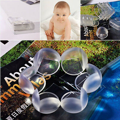 10Pcs Kids Silicone Corner Edge Protector Child Baby Desk Table Safety Cover New