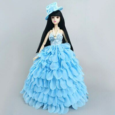 Green Fashion Doll Clothes For 11.5in. Doll 1/6 Doll Accessories Party Dress Toy
