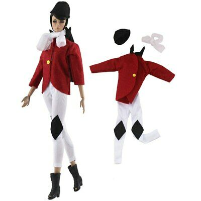 """Fashion Doll Clothes For 11.5"""" Doll Riding Cosplay Costume 1/6 Doll Accessories"""