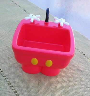 Disney Parks Mickey Mouse Red Kitchen Sink Ice Cream Sundae Pants Bowl Dish Cute