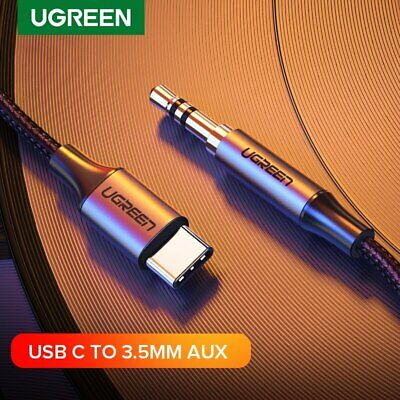 Ugreen USB C to 3.5mm AUX Headphones Cable Type C 3.5 Jack Adapter Audio Cable