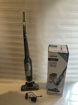 BOSCH Athlet Cordless Upright Bagless Vacuum Cleaner BCH65MSGB Silver