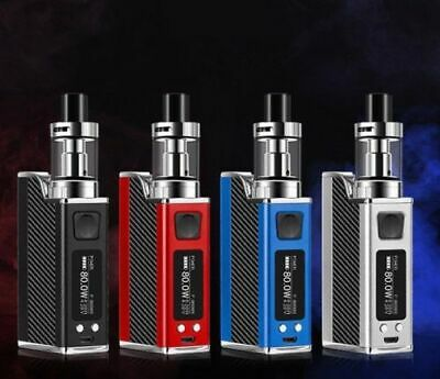 80W Big Breath Electronic E Pen Kit Starter Cigarette Tank LED Display Tank Vape