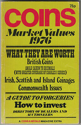 Coin Market Values 1976 144 Pages
