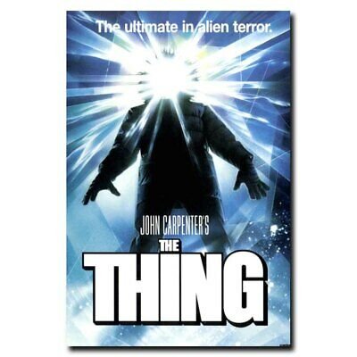 The Thing 24x16inch Classic Horror Movie Silk Poster Wall Door Decoration