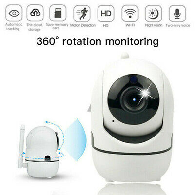 Wireless WIFI IP Camera 1080P HD Network Cam CCTV In/Outdoor Security IR Night U